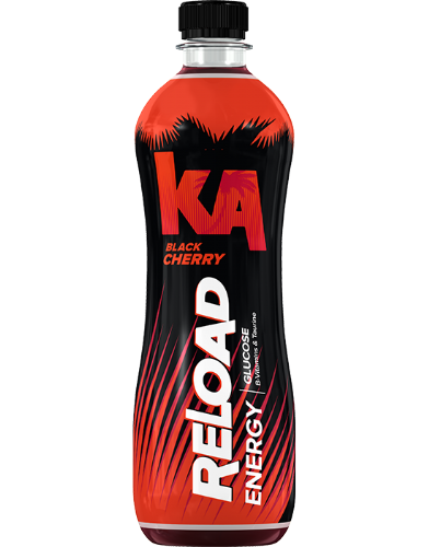 KA Reloaded Black Cherry 500ml (UK)